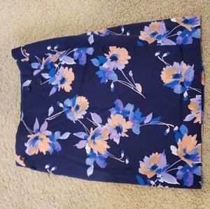 The Limited, Floral pencil skirt